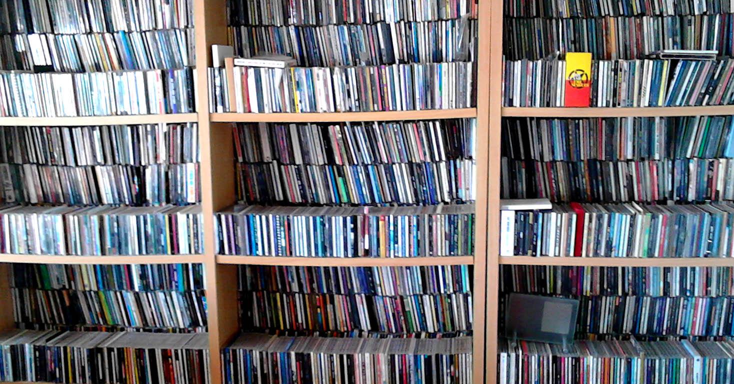 estante cds